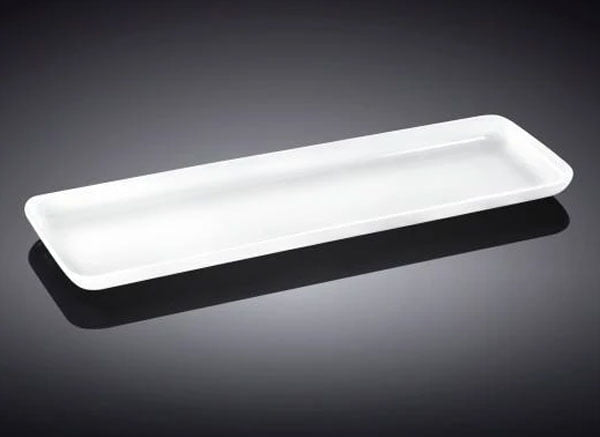 Wilmax Fine Porcelain Dish 16.25 x 6 Inch WL-992674 / A
