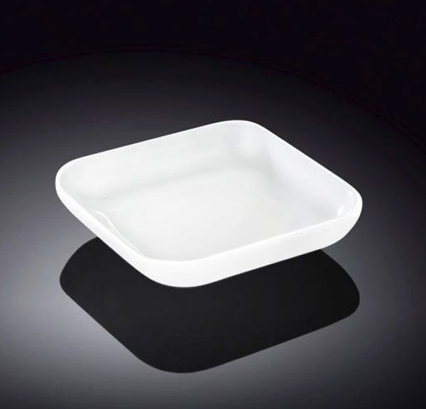 Wilmax Fine Porcelain Dish 2.75 x 2.75 Inch WL-992675 / A