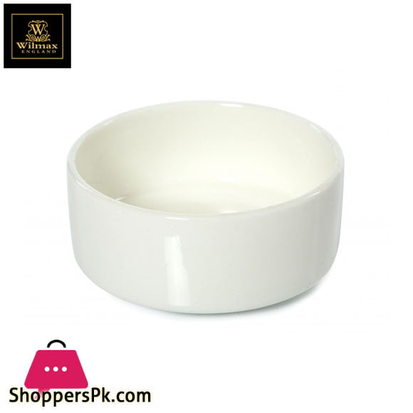 Wilmax Fine Porcelain Dish 3.5 Inch WL-992687 / A