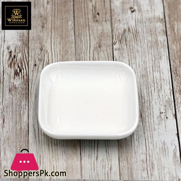 Wilmax Fine Porcelain Dish 3.5 x 3.5 Inch WL-992676 / A