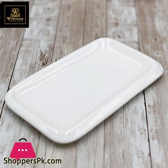 Wilmax Fine Porcelain Dish 8 x 4.5 Inch WL-992659 / A