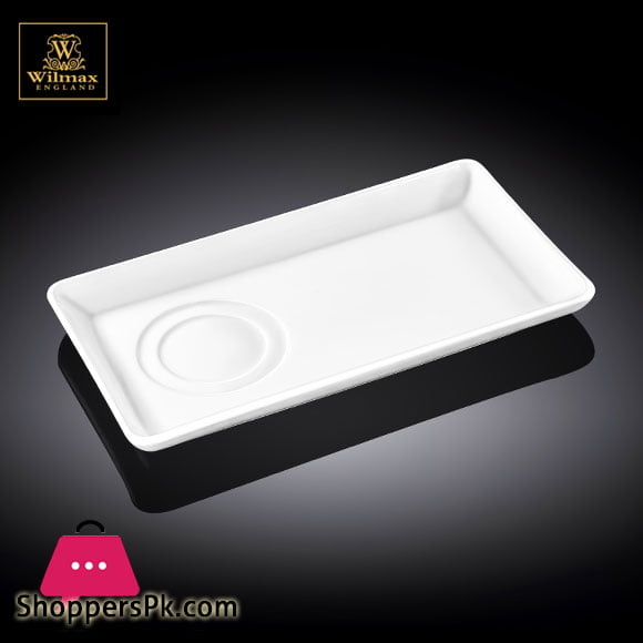 Wilmax Fine Porcelain Dish 9 x 5 Inch WL-996144