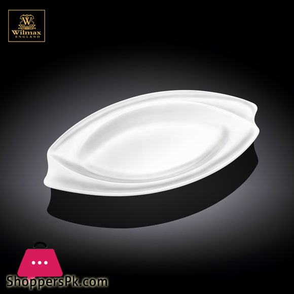 Wilmax Fine Porcelain Dish 8 x 5 Inch WL-992698 / A
