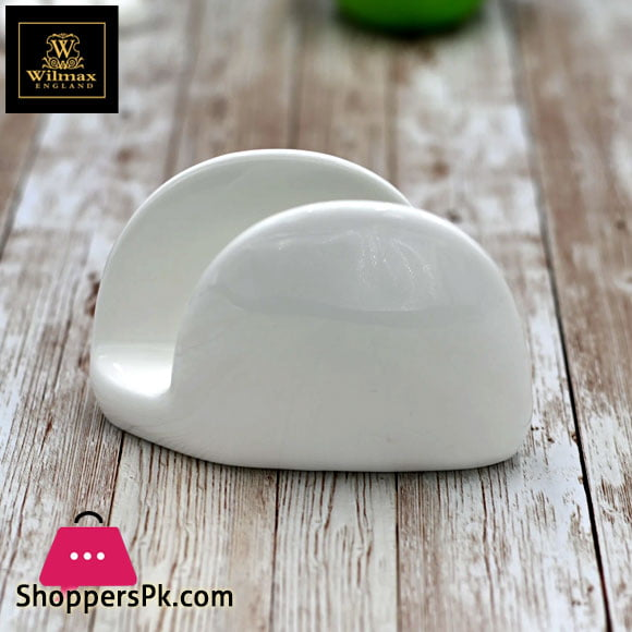 Wilmax Fine Porcelain Napkin Holder 11 x 8 Cm WL-996093