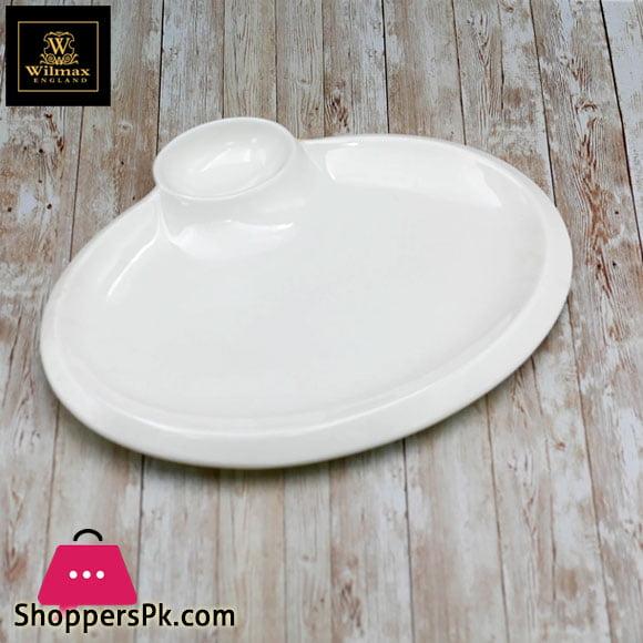 Wilmax Fine Porcelain Oval Platter 14 Inch WL-992631 / A