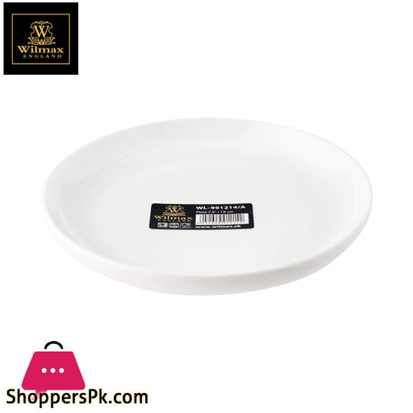 Wilmax Fine Porcelain Plate 7.5 Inch - WL-991214 / A