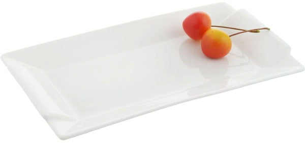 Wilmax Fine Porcelain Rectangular Platter 9.5 x 5 Inch WL-992645 / A