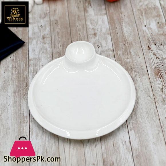 Wilmax Fine Porcelain Round Platter 12 Inch WL-992581 / A