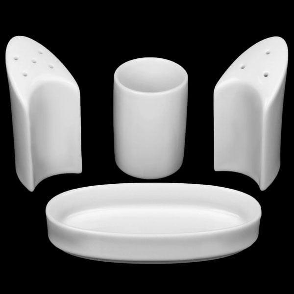 Wilmax Fine Porcelain Salt & Pepper Set WL-996117/Sp