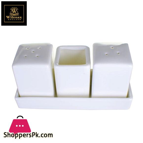 Wilmax Fine Porcelain Salt & Pepper Set WL-996118