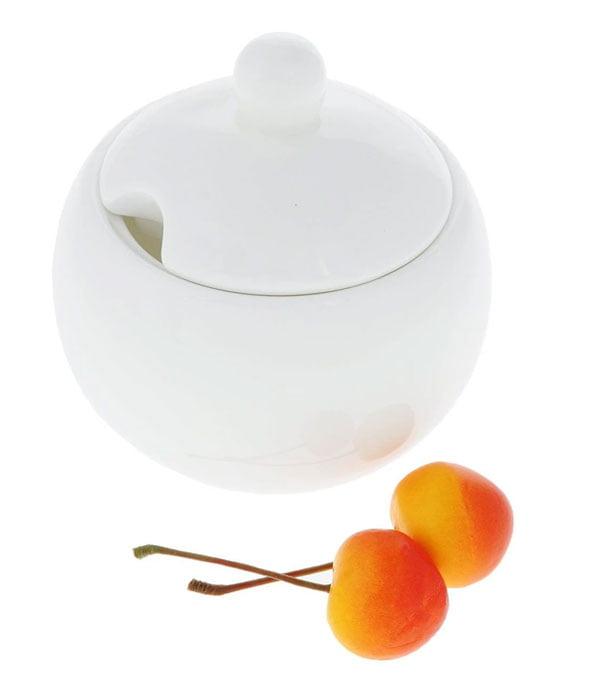 Wilmax Fine Porcelain Sugar Bowl 11 Oz | 325 Ml WL-995001/A