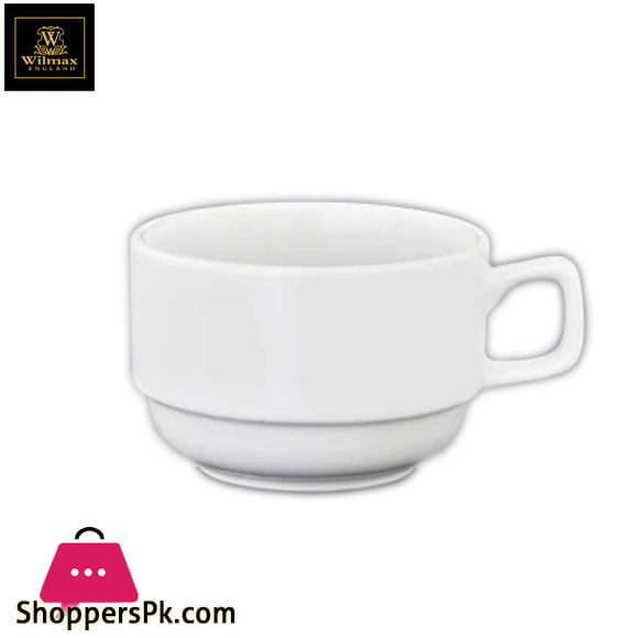 Wilmax Fine Porcelain Tea Cup 7 Oz | 200ML One Piece WL-973120