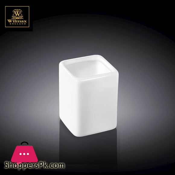 Wilmax Fine Porcelain Toothpick Holder 4x5cm