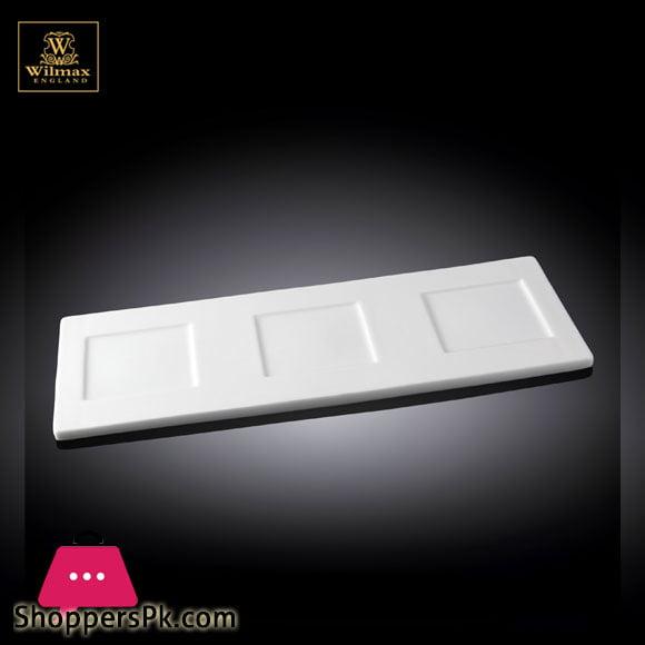 Wilmax Fine Porcelain Tray 14 x 5 WL-992426 / A