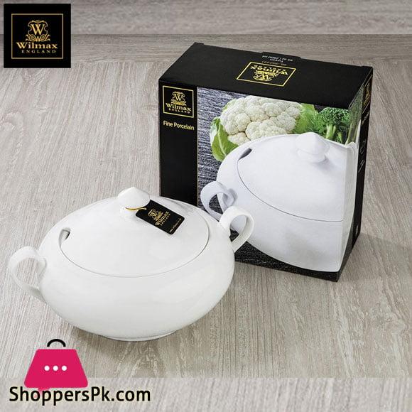 Wilmax Fine Porcelain Tureen 95 Oz - 2800 Ml WL-992491 / A