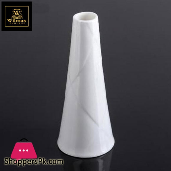 Wilmax Fine Porcelain Vase 2.5 x 6.25 Inch WL-996153