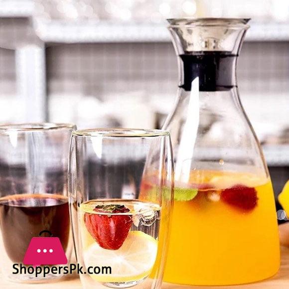 Wilmax Glass Jug 33.8 FL Oz | 1000 ML WL-888201 / A Only Jug