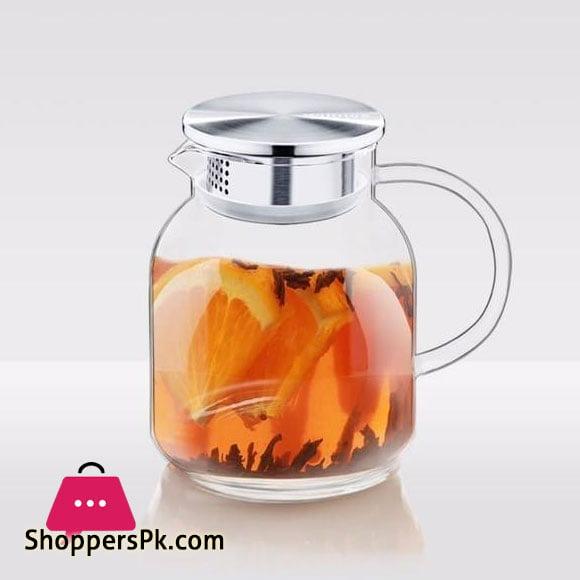 Wilmax Glass Jug 34 FL OZ | 1000 ML WL-888213 / A