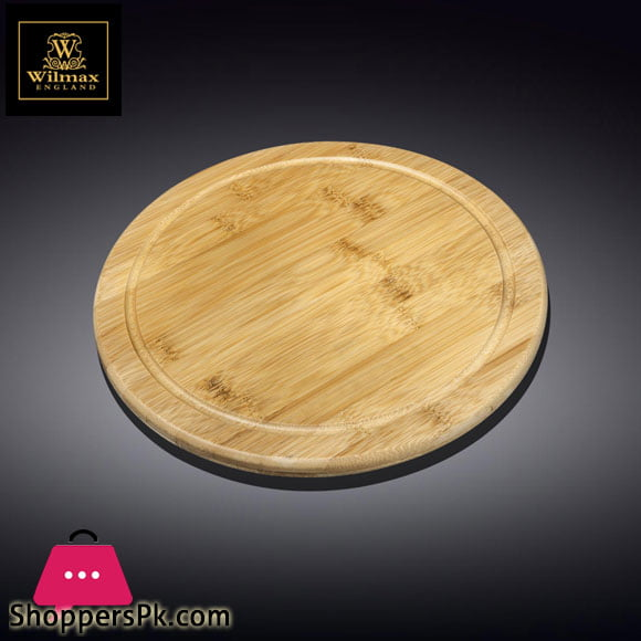 Wilmax Natural Bamboo Serving Board 8 Inch WL-771086 / A