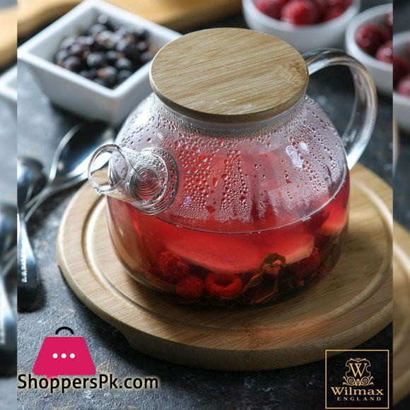 Wilmax Tea Pot 34 Fl Oz | 1000 Ml WL-888823 / A