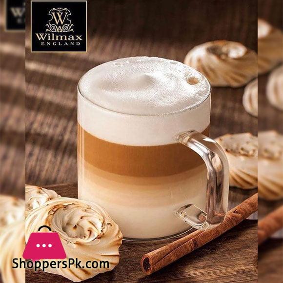 Wilmax Thermo Glass Cup 8 Oz | 250 ML One Piece WL-888605/A