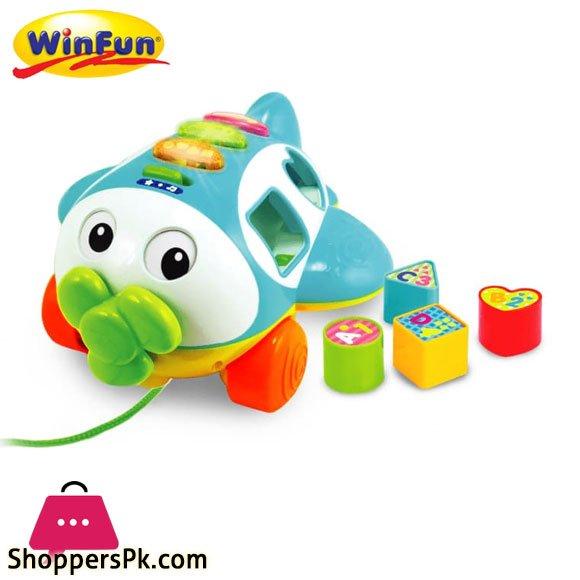 Winfun Pull Along Plane -1505
