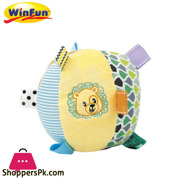 Winfun Rattle Plush Ball Art -180
