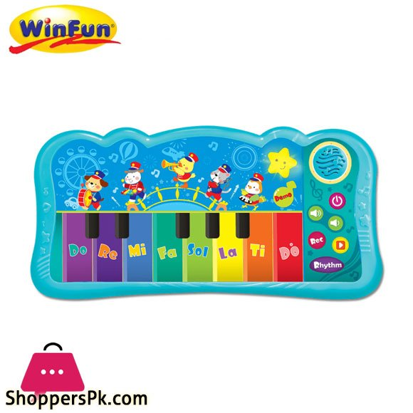 Winfun Jungle Band Keyboard - 2090