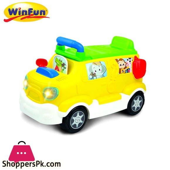 Winfun Learn 'N Ride Push Car Safari Truck – 0864