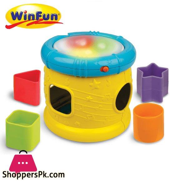Winfun Musical Instrument Toy Drum - 0748