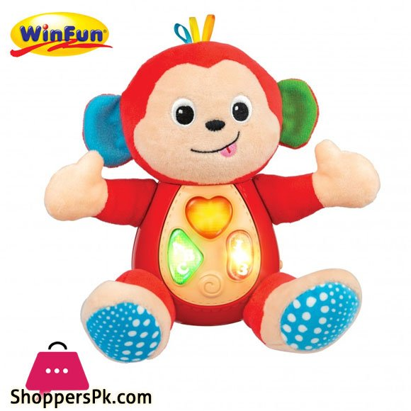 Winfun Sing 'N Learn Animal Pal - Monkey