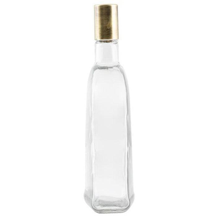 Ziba Sazan Hype Flat Glass Bottle 1.1 Liter Iran Made