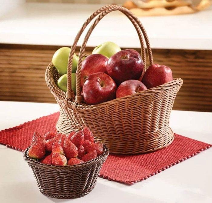 Ziba Sazan Jasmine Fruit Basket Iran Made