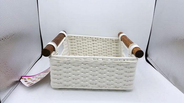 Ziba Sazan Mohya Wicker Fruit Basket Iran Made