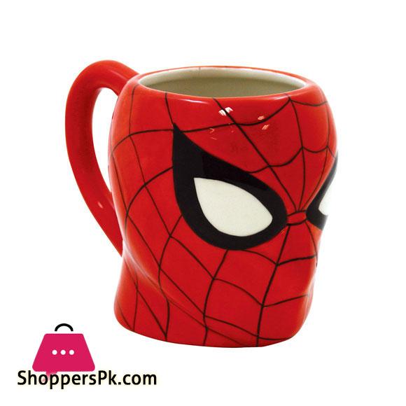 3D Cartoon Characters Ceramic Coffee Mug (SPIDER-MAN)