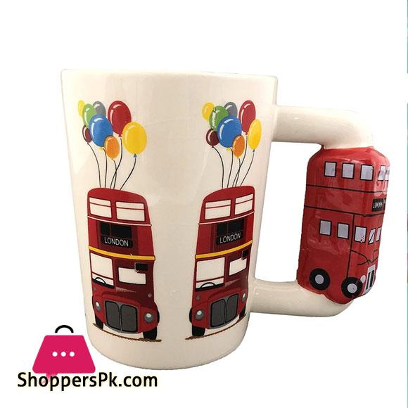 3D Double Decker Bus Coffee Mug