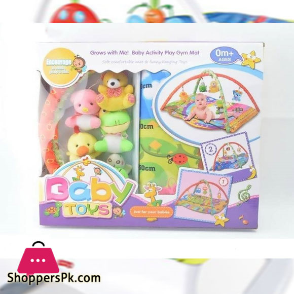 Baby Indoor Toys with Music Baby Play Gym Mat PRICE IN PAKISTAN