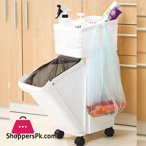 Dustro Trolley with Dustbin
