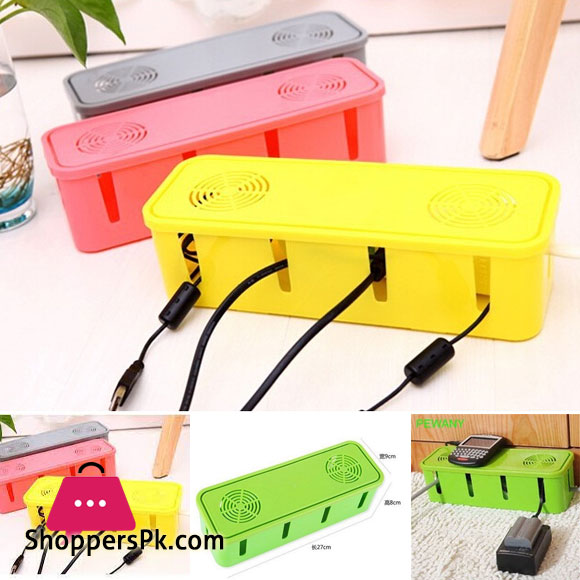 Electrical Socket Protection Box Cable Organizer Box