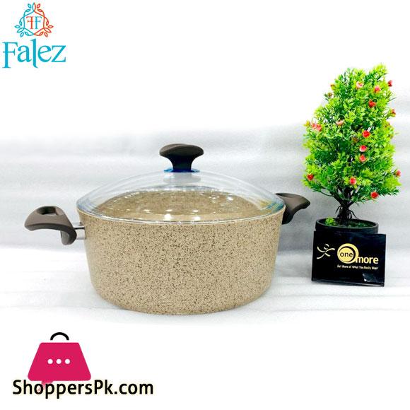 Falez Creamy Granetic Casserole Pot 26cm Turkey