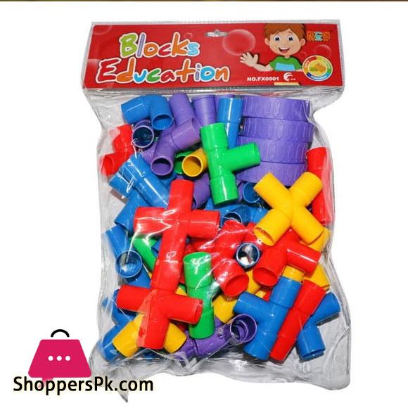Funny Interesting Mainan Blocks Puzzle - Multicolour HC-019