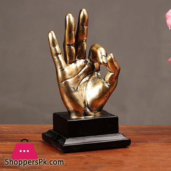 Hand Gesture Desk Statues Finger Sculpture Ok Fingers