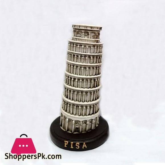 Home Decor Fiber Pisa Tower