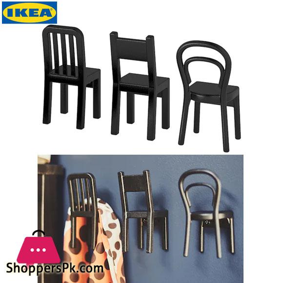 Ikea FJANTIG Hook Black