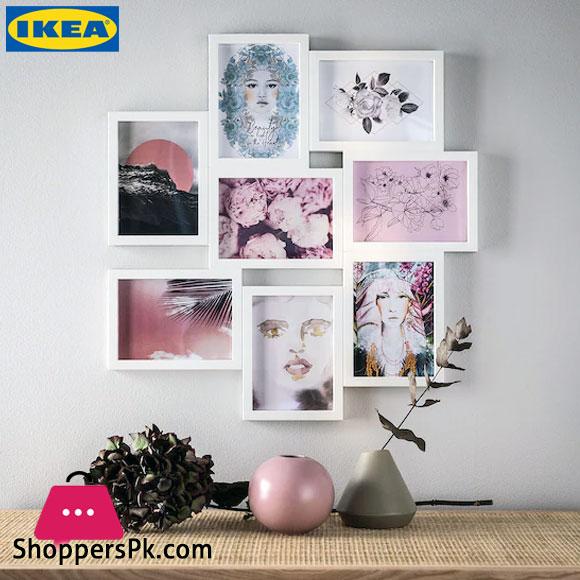 Ikea VÄXBO Collage Frame For 8 Photos 13x18 Cm