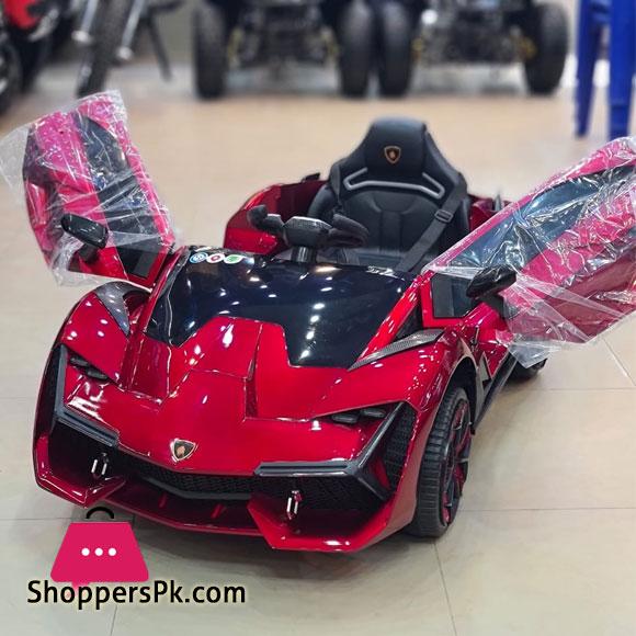 Lamborghini 12v Kids Ride on Car New 2021 Modal Metallic Paint Color