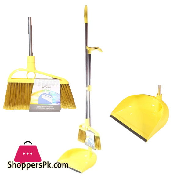 Limon Broom and Dustpan Set Iran Made