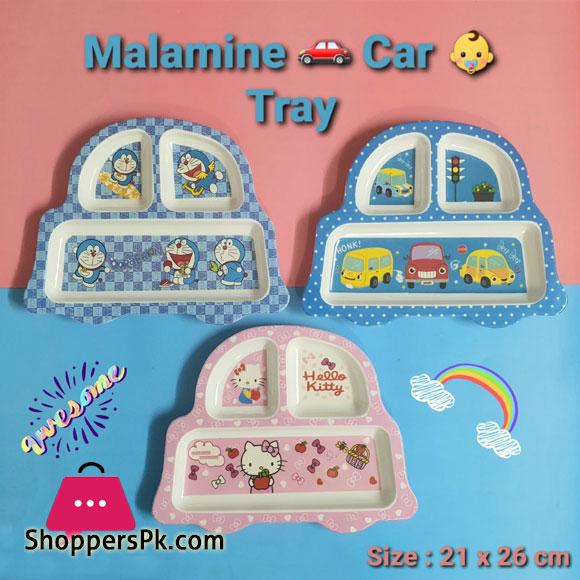 Melamine Car Tray 21 x 25 CM