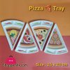 Plastic Pizza Slice Tray 26 x 20 CM