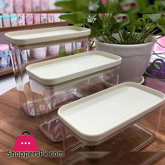 Premium Limon Airtight Storage Canister 2.7 Liter Iran Made